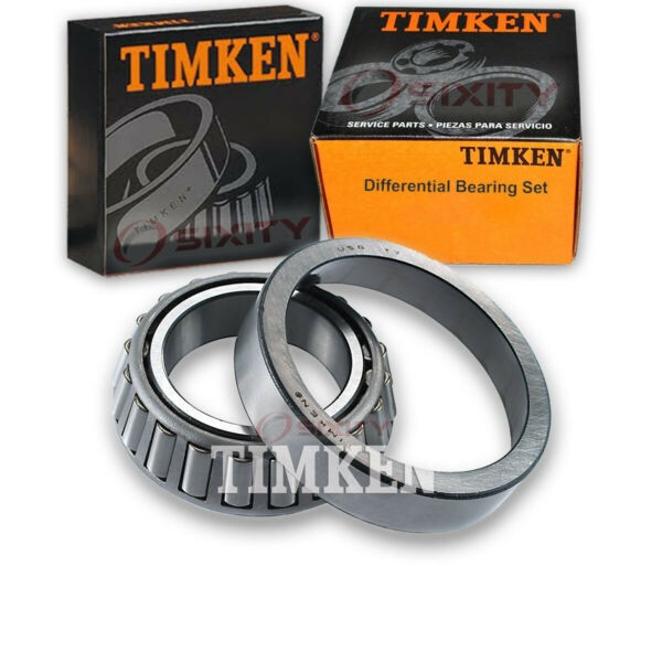 Timken Rear Differential Bearing Set for 1973-1977 Oldsmobile Cutlass Suprem zq