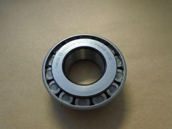 Timken X30306M  IsoClass TAPERED ROLLER BEARING, SINGLE CONE