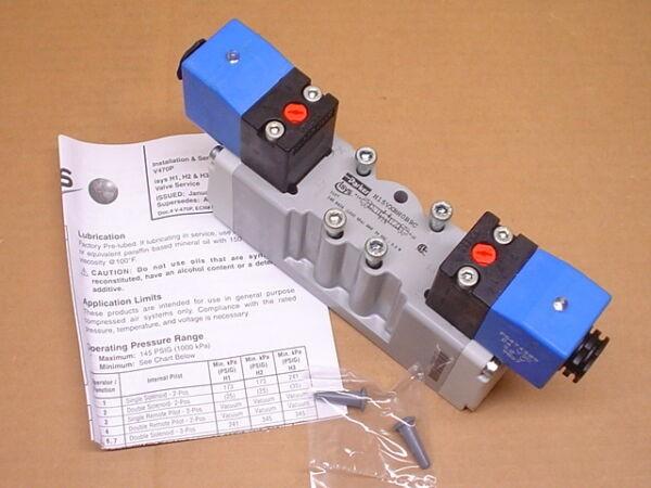 Parker H15VXBH0B9C 24VDC 3-Position 3/8