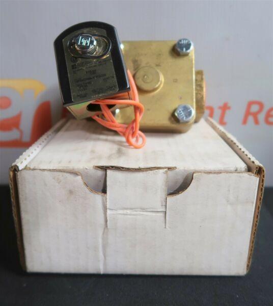 Parker 16FS5C2364ACFGC05 Solenoid Steam Valve Brass 1/50 11W120/60-110/50V