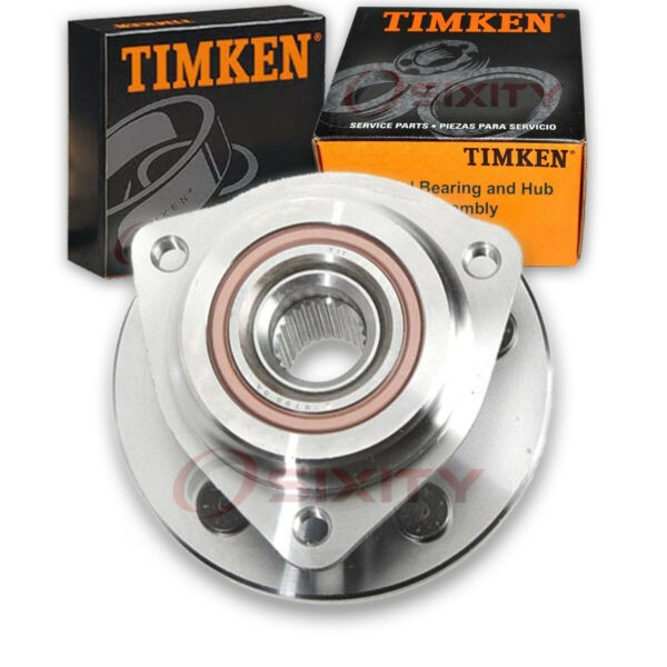 Timken Front Wheel Bearing & Hub Assembly for 1990-1992 Jeep Comanche Left jq
