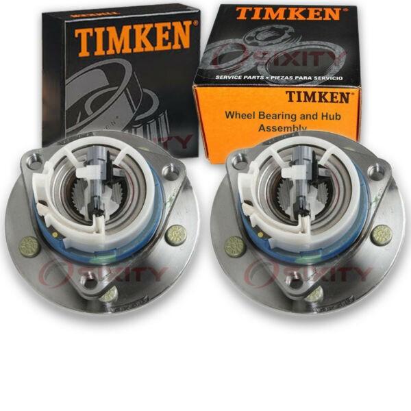 Timken Front Wheel Bearing & Hub Assembly for 1997-1998 Oldsmobile Regency mf