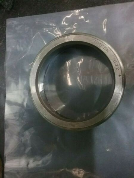 Timken 532 + Tapered Roller Bearing Cup**New/Old Stock**