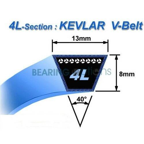 Replacement John Deere M122674 Mower Drive Belt Sabre Mowers With 38