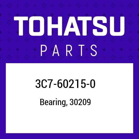 3C7-60215-0 Tohatsu Tapered roller bearing 3C7602150, New Genuine OEM Part
