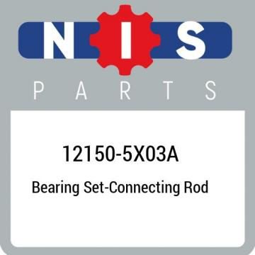 12150-5X03A Nissan Bearing set-connecting rod 121505X03A, New Genuine OEM Part