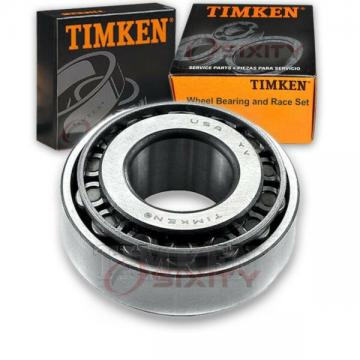 Timken Front Outer Wheel Bearing & Race Set for 1991-1994 Chevrolet gy