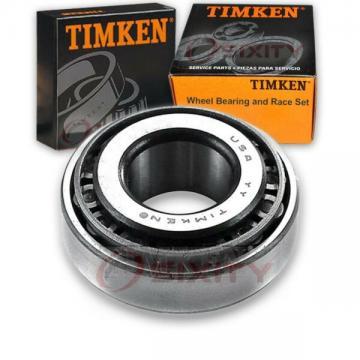 Timken Rear Outer Wheel Bearing & Race Set for 1982-1988 Nissan Sentra  cq