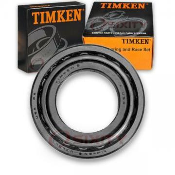 Timken Rear Wheel Bearing & Race Set for 1983-1989 Chrysler Fifth Avenue yp