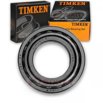 Timken Front Inner Differential Bearing Set for 1970-1973 Ford Country Squir sz