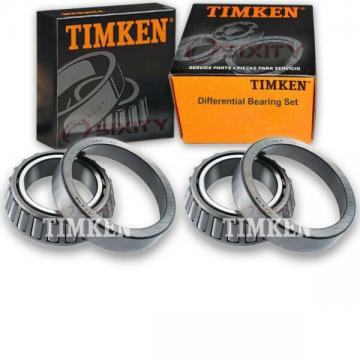 Timken Rear Differential Bearing Set for 1991-2001 Mazda MPV  cr