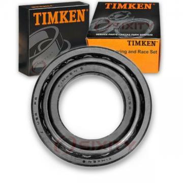 Timken Front Inner Wheel Bearing & Race Set for 1977-2002 Ford E-350 zz