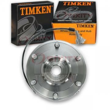Timken Front Wheel Bearing & Hub Assembly for 2004-2007 Infiniti QX56 Left xj