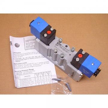 """Parker H15VXBH0B9C 24VDC 3-Position 3/8"""" Ports Double Solenoid Valve"""
