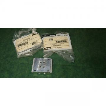 (3) NEW Parker # A805023 Miniature 2 Valve Manifold (26949-A12)