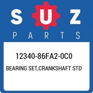 12340-86FA2-0C0 Suzuki Bearing set,crankshaft std 1234086FA20C0, New Genuine OEM