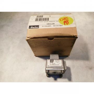"""Parker Schrader Bellows OR12B Quick Exhaust Valve 1/8"""" NPT"""