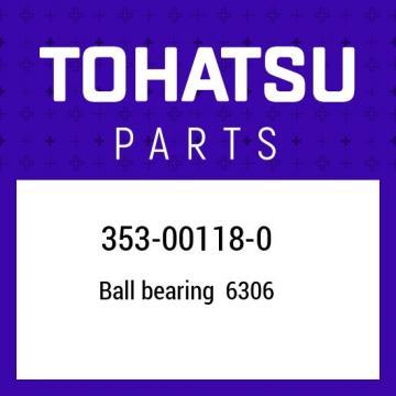 353-00118-0 Tohatsu Main bearing 353001180, New Genuine OEM Part