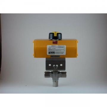 Parker 4F-B6XJ-SS-61ADX - Pneumatic Actuated Ball Valve