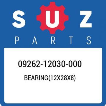 09262-12030-000 Suzuki Bearing(12x28x8) 0926212030000, New Genuine OEM Part