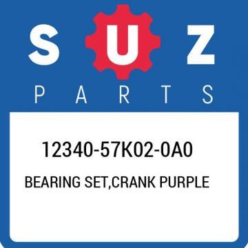 12340-57K02-0A0 Suzuki Bearing set,crank purple 1234057K020A0, New Genuine OEM P