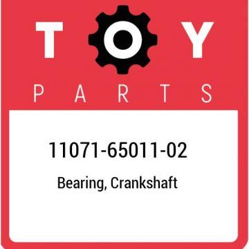 11071-65011-02 Toyota Bearing, crankshaft 110716501102, New Genuine OEM Part