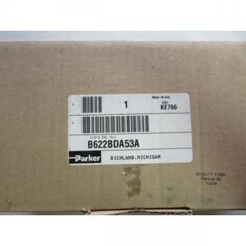 Parker B622BDA53A Pneumatic Air Control Valve 4-Way NEW!!! in Box Free Shipping
