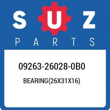 09263-26028-0B0 Suzuki Bearing(26x31x16) 09263260280B0, New Genuine OEM Part