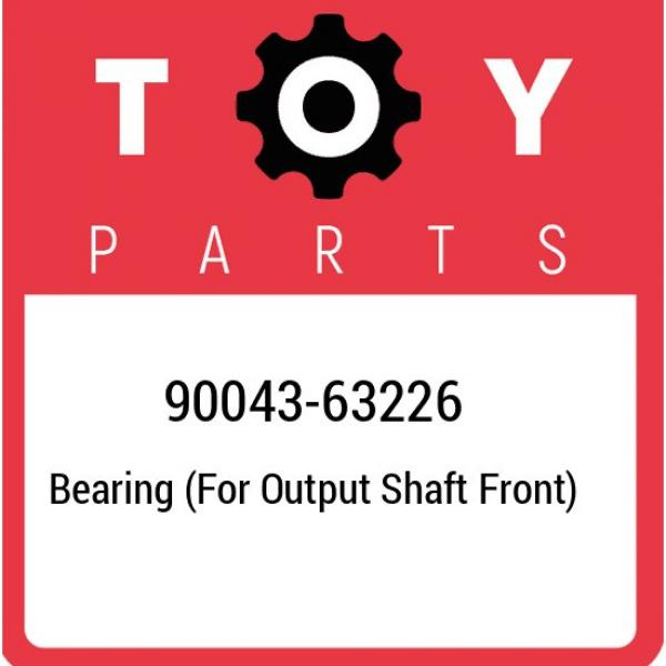 90043-63226 Toyota Bearing (for output shaft front) 9004363226, New Genuine OEM  #1 image