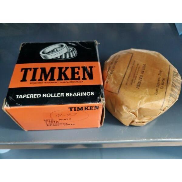 Timken Bearing 389A 90093 2-389A 1-384D 1-X1S-389A 20024 #1 image